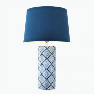 Blue Moroccan Lamp