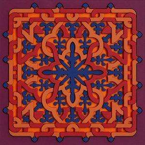 Coaster Vagabonde Crochet Velours
